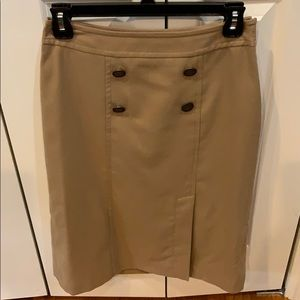 NWT The Limited tan skirt